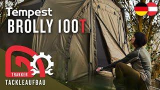 Trakker Tackleaufbau #1: Tempest Brolly 100T   Aufbauanleitung   Karpfenzelt   Angelzelt   Outdoor