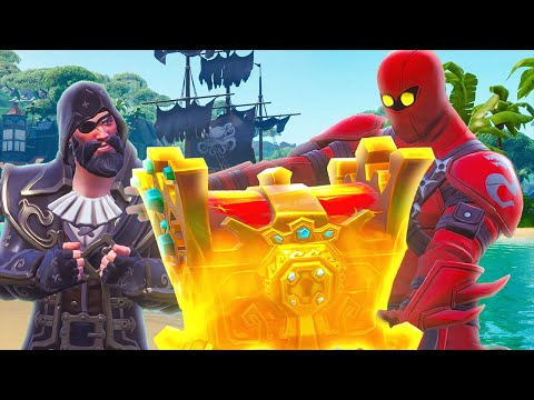 HYBRID STEALS BLACKHEART'S GOLD - Fortnite Short Film