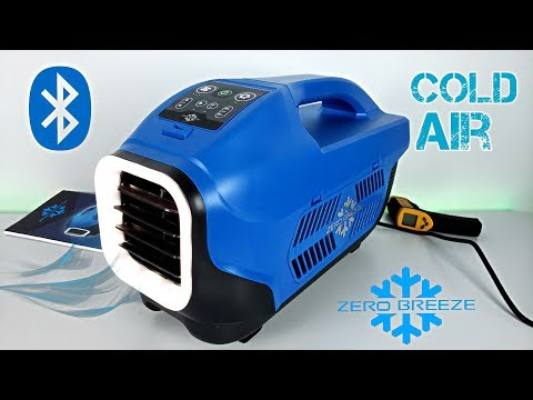 Zero Breeze – A Real Portable Air Conditioner – Tested in HOT Weather!