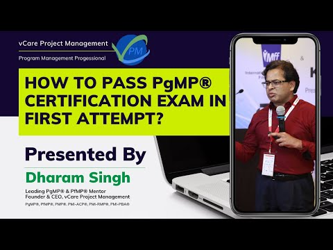 PgMP – How to pass in your first attempt?   PMI   Dharam Singh ...