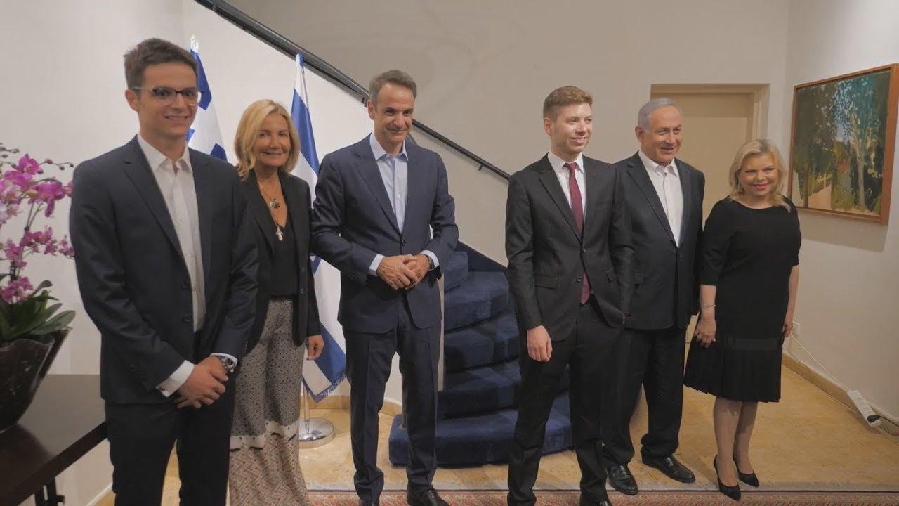 Eπίσημο δείπνο στο Κ.Μητσοτάκη παράθεσεο πρωθυπουργός του Ισραήλ