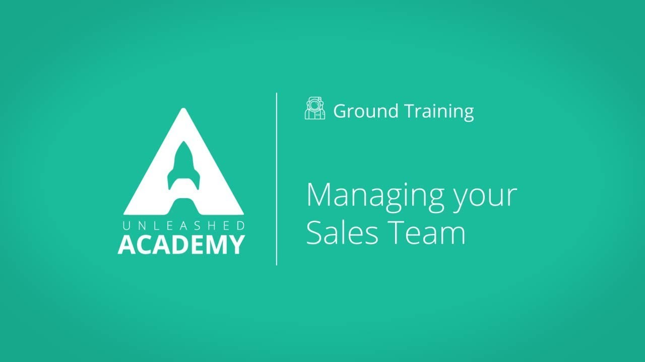 Managing your Sales Team YouTube thumbnail image