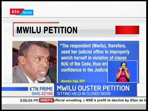 DCJ MWILU OUSTER PETITION: She says her woes is part of President Uhuru's 'we shall revisit' promise