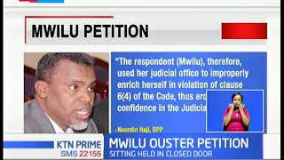 DCJ MWILU OUSTER PETITION: She says her woes is part of President Uhuru\'s \'we shall revisit\' promise