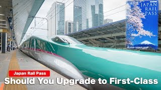 Should you upgrade your Japan Rail Pass to first class for $90 more? Lets find out!!