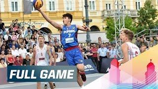 Hungary v Philippines - Full Game - 2015 FIBA 3x3 U18 World Championships