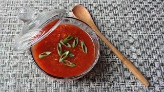 Korean Fried Chicken Sauce - Spicy, Sweet & Sour Fried Chicken Sauce Recipe