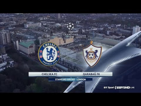 Chelsea vs Qarabag 6-0 All Goals Extended Highlights (English Commentary) UCL 12.09.2017