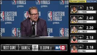 Nick Nurse postgame reaction   Raptors vs Bucks Game 3   2019 NBA Playoffs