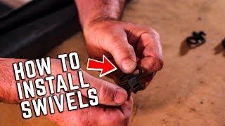How to Use & Install Locking Sling Swivels - Grovtec Tutorial
