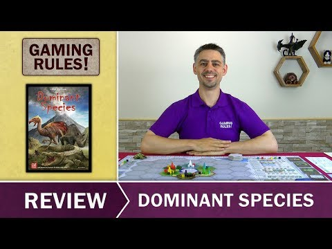 Dominant Species - Gaming Rules! Review