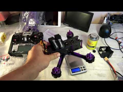 Eachine X220S unboxing, analysis, binding, fixing, configuration and demo flight