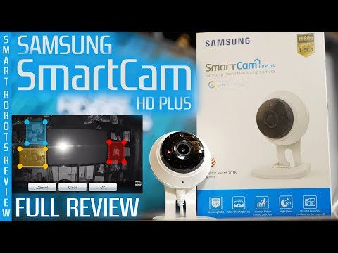 Samsung SmartCam HD Plus - Home Monitoring Camera - SNH C6417BN - Night Vision - Smart Robots Review