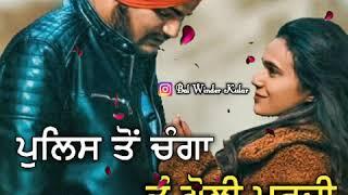 Dark Love || Sidhu Moose Wala || Whatsapp Status Video || New Punjabi Song 2019