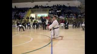 preview picture of video 'KOKUU - Matteo Montenero (Campionati Italiani Kata CKI Marzo 2013 - Acquapendente VT)'