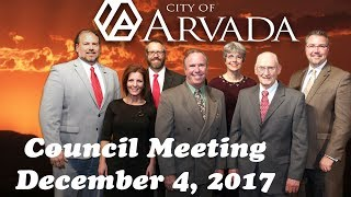 Preview image of City Council Meeting - December 4, 2017