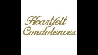 SENTENCES USED IN CONDOLENCE WRITING