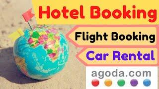 How book free hotel at agoda.com for Visa process