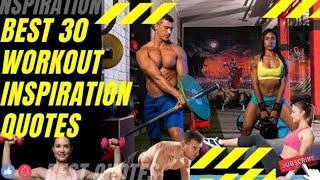 Best 30 Workout Motivation Quotes