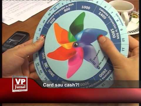 Card sau cash?!