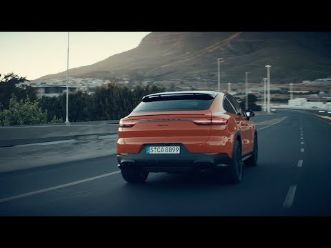 Porsche Cayenne Coupe Кроссовер класса J - рекламное видео 1