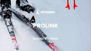 Видео: о крепления для беговых лыж Atomic Prolink