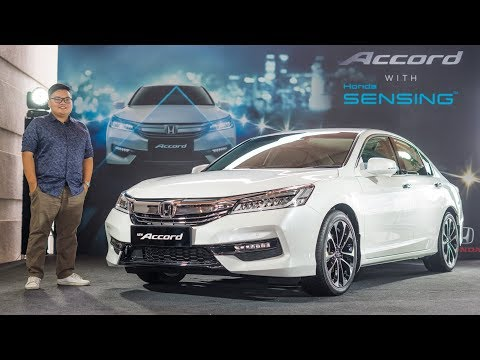 FIRST LOOK: Honda Accord with Sensing in Malaysia – RM170k
