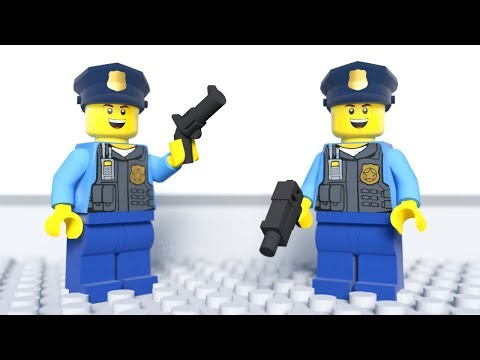 LEGO Police School – Parkour Training (2018)