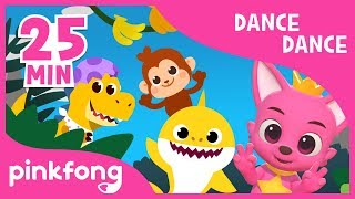 Gambar cover Baby Shark Dance and more | Dance Dance Pinkfong | +Compilation | Pinkfong Songs for Children