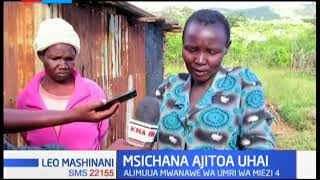 Huzuni yatanda Baringo baada ya msichana kujitia kitanzi kwa kumua mwanawe