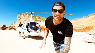 2019 GOPRO SUMMIT Remote Helicopter Pro Skim Boarding (Mud Crab Catch And Cook) - Ep 110