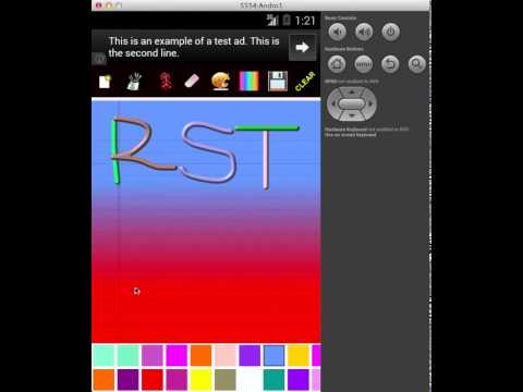 Video of Colorful Drawingpad