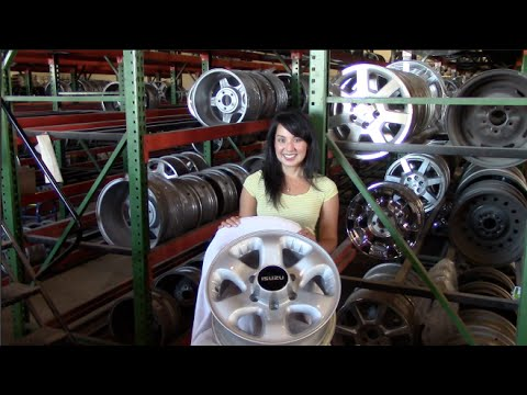 Factory Original Isuzu Ascender Rims & OEM Isuzu Ascender Wheels – OriginalWheel.com