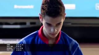 Bowling - 2019 WJC Boys Doubles Final Paris March 23