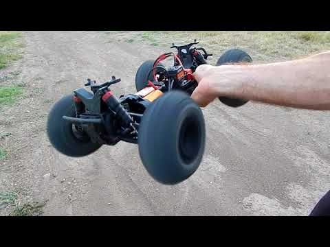 How Fast Is The Brushless Arrma Granite 4x4 on 4S? SCARY