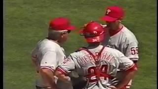 1998 Phillies at St  Louis   Matt Beech vs Kent Mercker