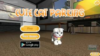 Cute Cat Parking, Unity3D Games, Cat, Parking, Animals, Videos Games for Children