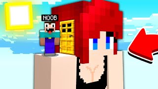 HOW TO LIVE INSIDE GIRL HOUSE in Minecraft NOOB vs PRO 100% trolling
