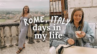 a few days in my life in rome, italy | study abroad 2019