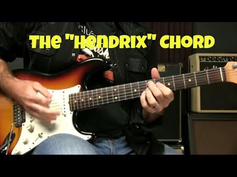 Blues Guitar Chord Lesson - The Hendrix Chord (The 7#9)