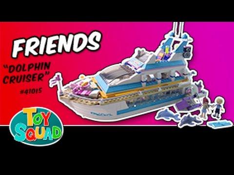Vidéo LEGO Friends 41015 : Le yacht