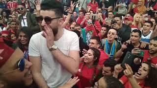Марокканские болельщики в Питере
