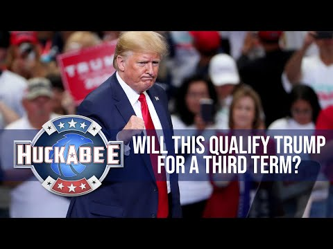Will This Qualify Trump For A THIRD TERM? | Huckabee