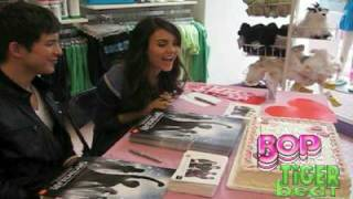 Виктория Джастис, Victoria's Birthday SURPRISE!!! (Tiger Beat & BOP)