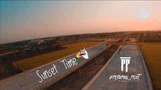 Fpv Vlog Ep.85 | Sunset Time . ☀️ #Pondyeah67fpv #pekopon_pilot #pekopon_hobbies