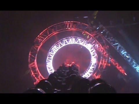 Rock N Roller Coaster Back Seat POV Walt Disney Studios Park Disneyland Paris France