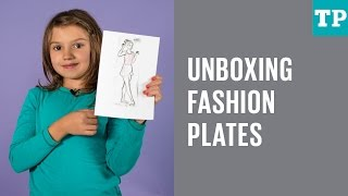 Fashion Plates Sports And Glamour Collection: Unboxing And Review