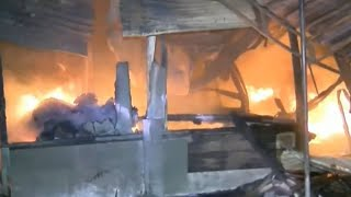Pasar Natar Lampung Selatan Terbakar