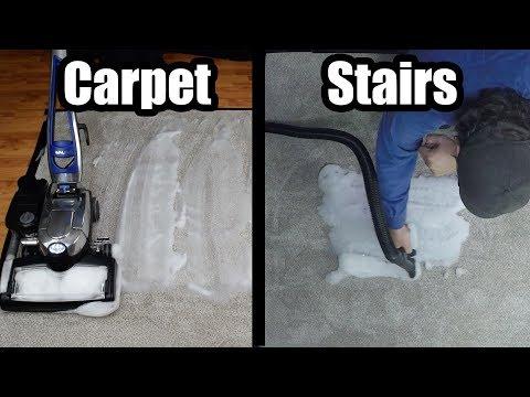 How to Shampoo Carpet, Stairs, Furniture, w/ Kirby Avalir / Sentria  G Series Vacuum Cleaner