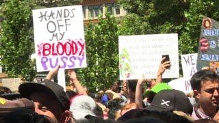 Thousands of Australians kick off anti-Trump Women